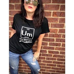Tops - Um the Element of Confusion Short Sleeve Shirt 465